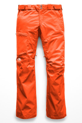 The North Face Sickline Ski Pant | Women's | NF0A3LWF | N4P | Valencia Orange | Front