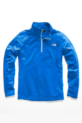he North Face Glacier 1/4 Zip Fleece | Women's | NF0A2VG6 | F89 | Bomber Blue | Front