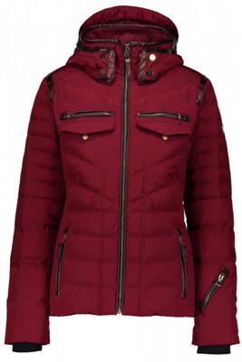 Obermeyer Down Jacket | Women's Devon | 11085 | 8045 | Major Red | Front