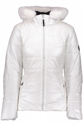 Obermeyer Special Edition Beau Ski Jacket | Women's | 11079 | 0610 | White | Front