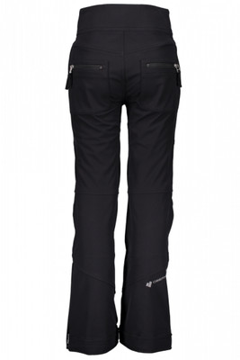 Obermeyer Ski Pant | Teen Girl's Jolie Softshell | 35009 | 6009 | Black | Back