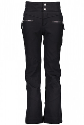 Obermeyer Ski Pant | Teen Girl's Jolie Softshell | 35009 | 6009 | Black | Front