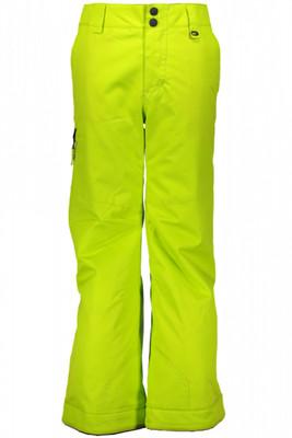 Obermeyer Ski Pants | Teen Boy's Brisk | 45010 | 7081 | Green Flash | Front