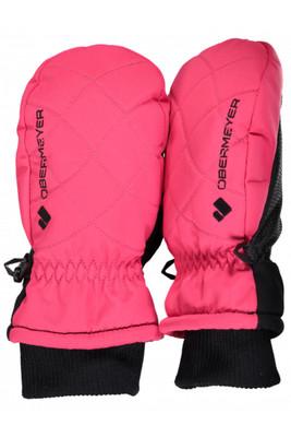 Obermeyer Ski Mitten | Youth Down Puff Mitten | 78020 | 8055 | Pink -out