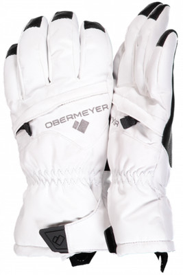 Obermeyer Ski Gloves | Youth Lava Glove | 78025 | 6010 | White