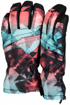 Obermeyer Ski Gloves | Youth Lava Glove | 78025 | 8175 | Wild West