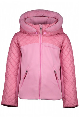 Obermeyer Ski Jacket | Girl's Polonaise Hybrid | 54008 | 6052 | Sugar Berry | Front