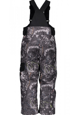 Obeyermeyer Ski Pants | Boy's Volt Novelty | 65020 | 8109 | Howl Grey Print | Back