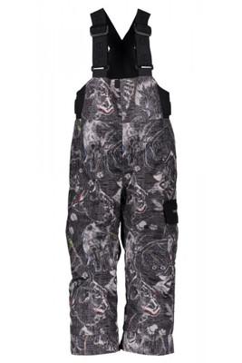 Obeyermeyer Ski Pants | Boy's Volt Novelty | 65020 | 8109 | Howl Grey Print | Front