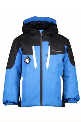 Obermeyer Ski Jacket | Boy's Horizon | 61031 | 6068 | Stellar Blue | Black | Front