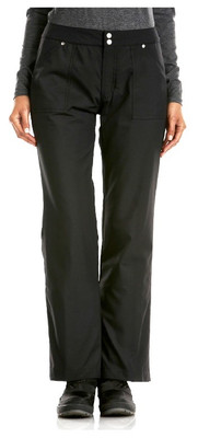 The Kelsey B insulated Black Jean Cut Ski Pant for women has a premium fabric and is made from a comfortable stretch material