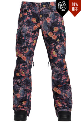 Burton Insulated Gloria Pant | Women's | 205551 | 960 | Prickly Pear | Front