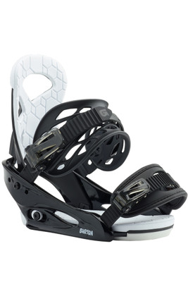 Burton Smalls Snowboard Binding | Kid's | 105751 | 001 | Black | Front