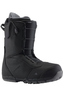 Burton Ruler Wide Speedzone   Men's Snowboard Boot   131751   001   Black   Front