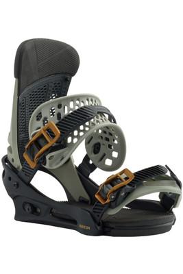 Burton Snowboard Bindings | Men's Malavita EST | 105541 | 014 | Black/Grey | Front