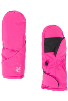 Spyder Bitsy Cubby Mittens | Girl's | 185342 | 670 | Taffy Pink