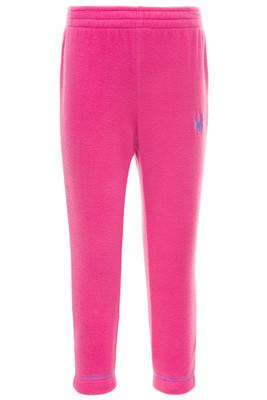 Spyder Bitsy Speed Fleece Pants | Girl's | 184526 | 670 | Taffy Pink | Front