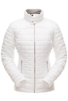 Spyder Edyn Insulated Jacket | Women's | 182402 | 100 | White | Front