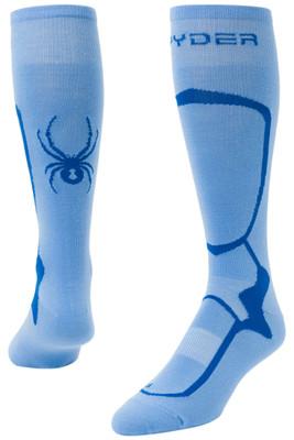 Spyder Pro Liner Socks | Women's | 185212 | 451 | Blue Ice