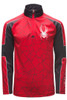 Spyder Limitless Challenger Zip T-Neck | Boy's | 183108 | 600 | Red | Front