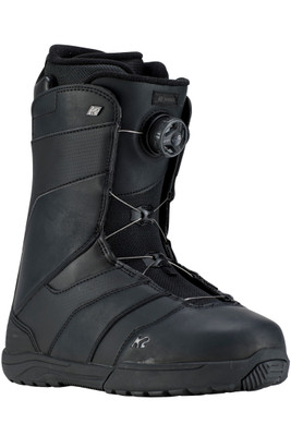 K2 Raider Snowboarding Boot | Men's | Raider19 | Black | Front Angle