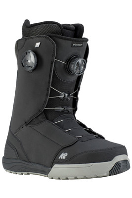K2 Boundary Snowboard Boot | Men's | Boundary19 | Black | Front angle