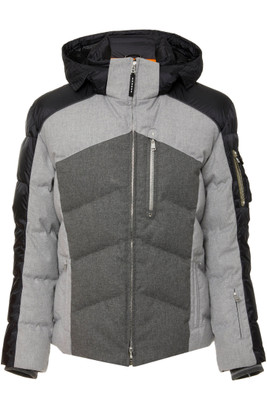Bogner Evan-D Men's Down Ski Jacket | 3105 in Black