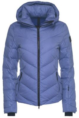 Fire & Ice Sassy-D Down Ski Jacket | Women's in Blue Lilac.
