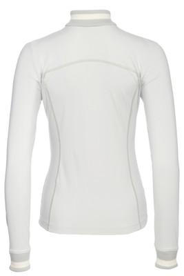 Bogner Patrizia Women's Turtleneck Mid-Layer | 5151 in Soft Grey