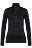 Toni Sailer Marjan Women's 1/2 Zip T-Neck Layer | 282302 in Black