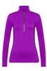 Toni Sailer Marjan Women's 1/2 Zip T-Neck Layer | 282302 in Pink Burst!