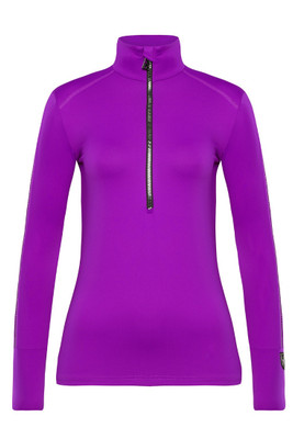 Toni Sailer Marjan Women's 1/2 Zip T-Neck Layer   282302 in Pink Burst!