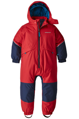 Patagonia Snow Pile One-Piece | Toddler | 61130 | FRE | Fire | Front
