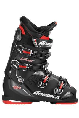 Nordica Cruise 120 Ski Boots | Men's | 05053804168 | Black/Black/Red | Outside