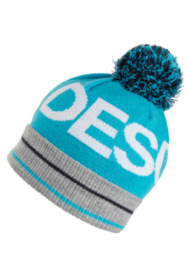 Descente Pom Hat | Girl's | DWDMGC01 | 62 | Cerulean Blue | Front