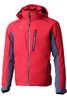Descente Terro Men's Ski Jacket | DWMMGK29B from the Peak Collection, in Electric Red