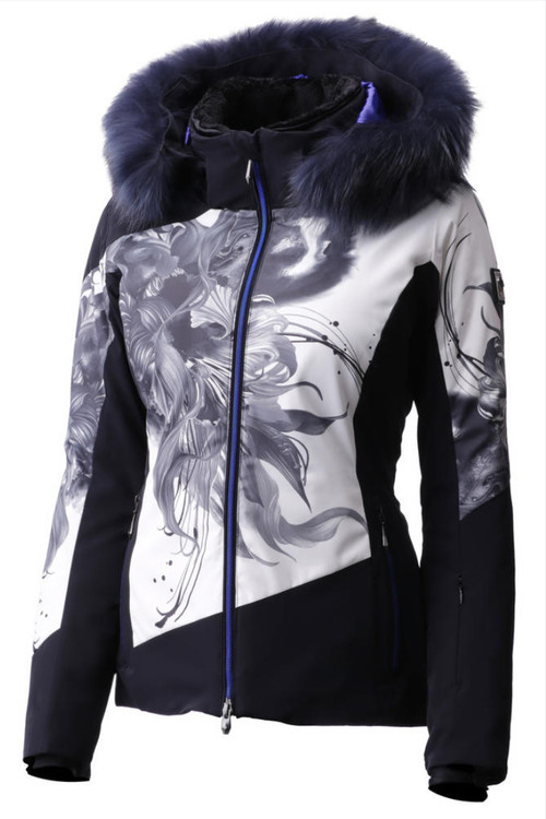 Descente Reina Fur Ski Jacket | Women's | DWWMGK01F
