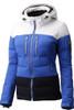 Descente Sienna Women's Ski Jacket | DWWMGK11 in Ocean Blue and Super White