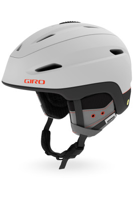 Giro Zone MIPS Snow Helmet | Men's | GSH1106 | Matte Light Grey | Vermillion