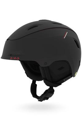 Giro Range MIPS Snow Helmet | Men's | GSH1101 | Matte Black | Red Sport Tech