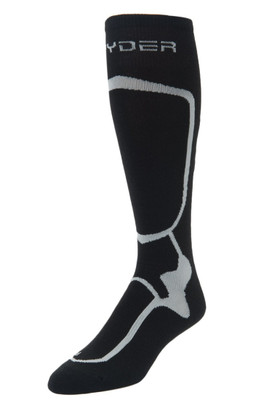 Spyder Pro Liner Socks | Men's | 185204 | 001 | Black