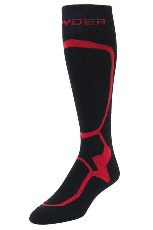Spyder Pro Liner Socks   Men's   185204   018   Black