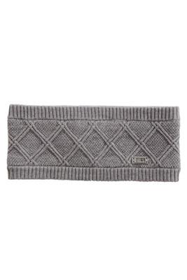 Nils The Mischa Women's 50% Rayon / 20% Nylon / 30% Polyester Ear Warming Headband | 9058 | Steel Grey