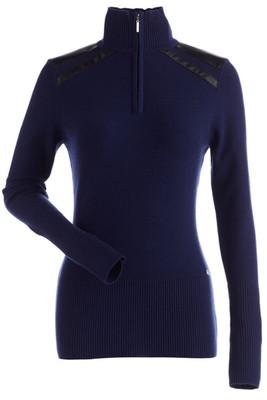 Nils Sharon Women's Slo Sweater   6078 in Blue