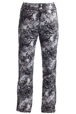 Nils Myrcella Winter Special Edition Ski Pants | 3618PR in the black, grey and white Solstice Print