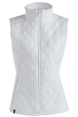 Nils Katrina Women's Quilted Insulator Vest | 8337 in White