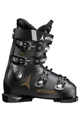 Atomic Hawx Magna 75 W Ski Boot | Women's | AE5018620 | Black/ Gold | Side View