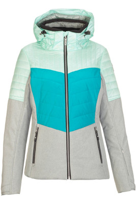 Killtec Jannali Ski Jacket | Women's | 32474 | 211 | Grey Melange | Front