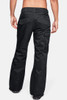 UA Navigate Ski Pants | Men's | 1315986 | 001 | Black/ Charcoal | Back Styled