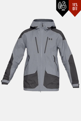 Under Armour Nimbus GTX Jacket | Men's | 1315977 | 035 | Steel/ Charcoal | Back